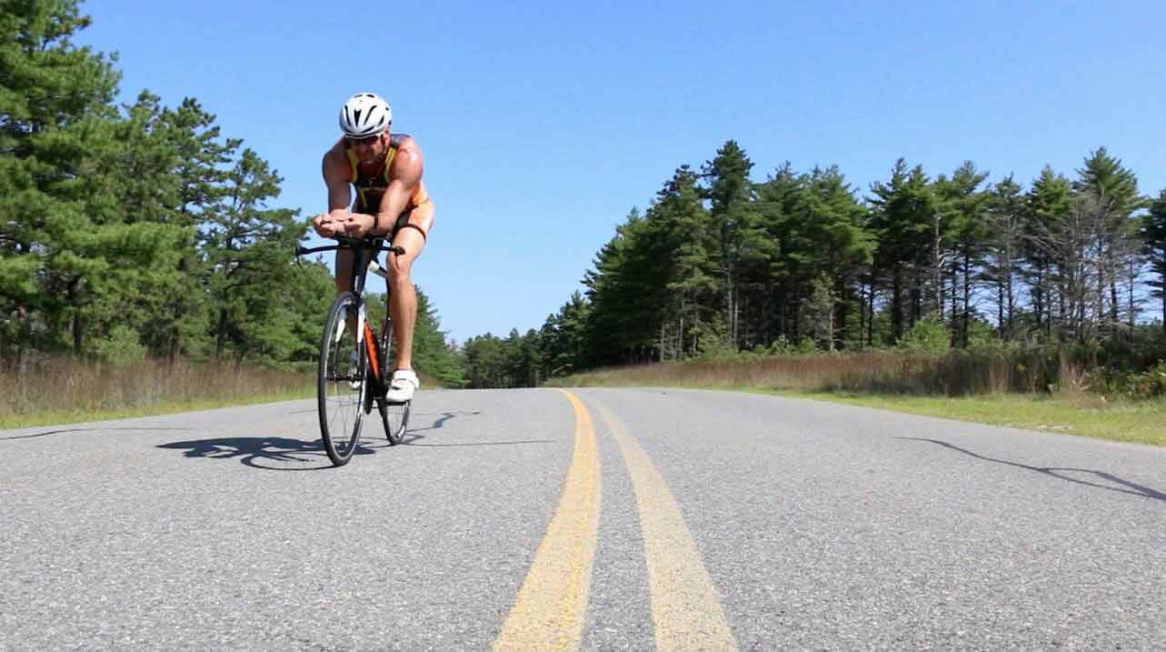 Pilgrimman Triathlon DCR Myles Standish State Forest in Plymouth, Ma